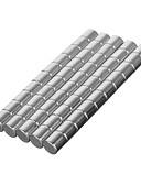 billige Modeure-50 pcs 8*5 mm Magnetiske puslespil Byggeklodser / Puslespil Cube / Neodymmagnet Magnet Magnetisk Voksne Gave