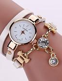 cheap Quartz Watches-Women's Fashion Watch Casual Watch Leather Band Bohemian Black / White / Blue / One Year / Tianqiu 377