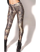 voordelige Damesleggings-Dames Sportief Legging - Heelal, Print Medium Taille