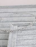 رخيصةأون فساتين زفاف-حجر الراين بندانة رأس مع 1 زفاف / مناسبة خاصة / فضفاض خوذة