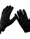 cheap Women's Jumpsuits & Rompers-Sports Gloves Bike Gloves / Cycling Gloves Keep Warm / Windproof / Breathable Full finger Gloves Synthetic Leather / Polyester Cycling / Bike / Fitness Men's / Women's / Unisex