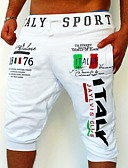 cheap Men's Pants & Shorts-Men's Active / Basic Cotton Sweatpants / Relaxed Pants - Letter Print