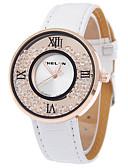 preiswerte Modische Uhren-Damen Armbanduhr Armbanduhren für den Alltag PU Band Modisch Schwarz / Weiß / Blau