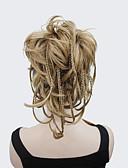 abordables Calcetines y Medias-Con Clip Coletas Pelo sintético Pedazo de cabello La extensión del pelo Ondulado Natural