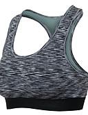 voordelige Hardloopshirts, -broeken en -shorts-Racerback Sport bh's Gewatteerd Lichte ondersteuning Voor Yoga - Rood / Groen / Blauw Sneldrogend, Zweetafvoerend Dames