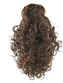 זול חליפת גוף-קוקו שיער סינטטי חתיכת שיער הַאֲרָכַת שֵׂעָר גלי טבעי