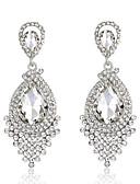 cheap Evening Dresses-Women's Crystal Drop Earrings - Rhinestone Drop Fashion, Elegant, Bridal Dark Red / Royal Blue / Champagne For Wedding Party Anniversary