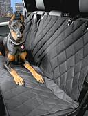 abordables Relojes de Vestir-Perro Cobertor de Asiento Para Coche Mascotas Portadores Impermeable Portátil Negro