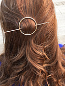 billige Moderigtige hårsmykker-Dame Vintage Hårclips - Legering Ensfarvet