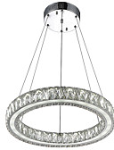 povoljno Odjeća za trbušni ples-Lusteri Ambient Light Electroplated Metal Crystal, LED 110-120V / 220-240V Meleg fehér / Hladno bijela Bulb Included / Integrirano LED svjetlo