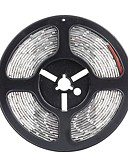 baratos Chapéus de Moda-SENCART 5m Faixas de Luzes LED Flexíveis 300 LEDs 5630 SMD Branco Quente / Branco / Vermelho Cortável / Impermeável / Conetável 12 V / IP68 / Adequado Para Veículos / Auto-Adesivo