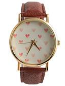 preiswerte Modische Uhren-Damen Armbanduhr Schlussverkauf / / PU Band Freizeit / Modisch Braun