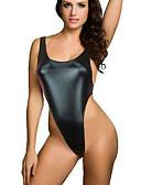 olcso Női hálóruházat-Női Sexy Ultra szexi Hálóruha - Nyitott hátú, Egyszínű
