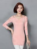 preiswerte Kleider-Damen Übergrössen Street Schick Hülle Kleid - Spitze Ausgehöhlt, Solide Mini