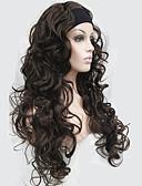 billige Praktiske gaver-Syntetiske parykker Dame Krøllet Syntetisk hår Parykk Lang Lokkløs Beige Rød Bleik Blond StrongBeauty