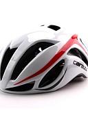 preiswerte Damen hosen-CAIRBULL Erwachsene Fahrradhelm 17 Öffnungen ASTM / ASTM F 2040 Stoßfest, Leichtes Gewicht, Einstellbare Passform EPS, PC Sport Straßenradfahren / Freizeit-Radfahren / Wandern - Grün / Rot + blau