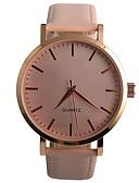 preiswerte Modische Uhren-Damen Armbanduhr Armbanduhren für den Alltag / / PU Band Freizeit / Modisch Schwarz / Braun / Rosa / Ein Jahr / Tianqiu 377