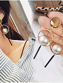 cheap Evening Dresses-Women's Drop Earrings Hoop Earrings Dangle Earrings - Gold Plated Gold / Silver For Wedding Party Daily / Casual