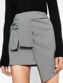 preiswerte Damen Röcke-Damen Ausgehen Stifte Röcke - Verziert Mehrschichtig