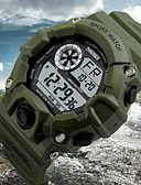رخيصةأون ساعات جيش-SKMEI للرجال ساعة المعصم رقمي 30 m مقاوم للماء المنبه رزنامه مطاط فرقة رقمي سحر أسود / أخضر - أخضر أزرق CalfWidth سنتان عمر البطارية / الكرونوغراف / LCD / Maxell626 + 2025