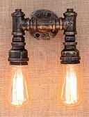 abordables Vestidos de Dama de Honor-Rústico / Campestre Lámparas de pared Metal Luz de pared 110-120V / 220-240V 40W / E27