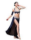 cheap Belly Dancewear-Outfits Women's Performance Polyester Sequin / Ruffles / Tassel Sleeveless Dropped / Belly Dance