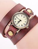 cheap Quartz Watches-Women's Bracelet Watch Wrist Watch Quartz Black / White / Blue Cool Punk Analog Ladies Charm Vintage Casual Bohemian - Red Green Blue