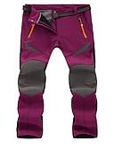 お買い得  レディースセーター-女性用 ハイキング パンツ アウトドア 防水 保温 防風 防雨 高通気性 冬 ソフトシェル サイクリングタイツ ボトムズ キャンピング&ハイキング エクササイズ&フィットネス レジャースポーツ ランニング