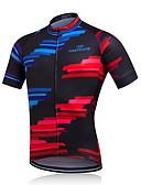 abordables Camisas de Hombre-Fastcute Hombre Manga Corta Chaqueta de Ciclismo / Maillot de Ciclismo Bicicleta Camiseta / Maillot, Secado rápido, Transpirable,