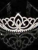 billige Fest Kjoler-Dame Rhinsten Krystal Medaljon-Bryllup Speciel Lejlighed Diademer