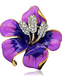 cheap Fashion Headpieces-Women's Brooches - Stylish Brooch Black / Purple / Red For Wedding / Party / Dailywear / Casual