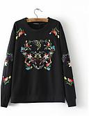 preiswerte Damen Kapuzenpullover & Sweatshirts-Damen Ausgehen Pullover - Druck