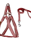 abordables Faldas para Mujer-Gato Perro Bozales Correas Ajustable / Retractable Transpirable Suave Seguridad Carrera Chaleco Casual Un Color Nailon Malla Rojo Azul