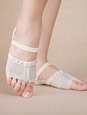 hesapli Göbek Dansı Giysileri-Göbek Dansı Isınma Kadın's Performans Polyester Kristaller / Yapay Elmaslar Uzun Çorap