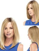 hesapli Göbek Dansı Giysileri-Sentetik Peruklar Kadın's Düz Sarışın Sentetik Saç Koz saç Sarışın Peruk Bonesiz Sarışın / Evet