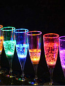 cheap Evening Dresses-Champagne Glass Luminescence Glass 6.8*18Cm Random Color