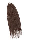 halpa Urheilukello-Letitetty Senegal Twist punokset Synteettiset hiukset 1kpl / pakkaus punokset