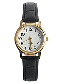 ieftine Ceasuri La Modă-Pentru femei Ceas de Mână Quartz Piele PU Matlasată Negru Ceas Casual / Analog femei Casual Modă - Negru Un an Durată de Viaţă Baterie / Tianqiu 377