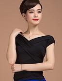 economico Abbigliamento balli da sala-Balli da sala Top Per donna Addestramento Rayon Incrociato Mezza manica Naturale Top