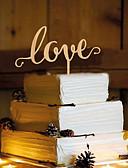 levne Závoje-Figurky na svatební dort Motýlí motiv Monogram Pryskyřice Svatební s 1 OPP