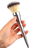 voordelige Damesjurken-1pcs Make-up kwasten professioneel Poederkwast Synthetisch haar Professioneel Metaal Grote kwast