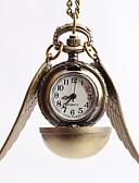 abordables Relojes Brazalete-Hombre Reloj de Vestir / Reloj de Bolsillo / Reloj de Collar Japonés Reloj Casual Aleación Banda Vintage Dorado / Un año