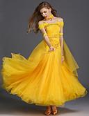 cheap Ballroom Dance Wear-Ballroom Dance Dresses Women's Training Spandex / Tulle Sleeveless