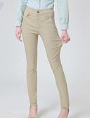 preiswerte Damen Kleider-Damen Übergrössen Eng / Jeans Hose Solide