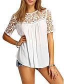 preiswerte Hemd-Damen Solide - Niedlich Street Schick Ausgehen Hemd