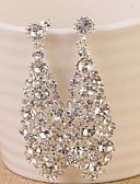 hesapli Gece Elbiseleri-Kadın's Halka Küpeler - Altın / Gümüş Uyumluluk Düğün Parti Halloween