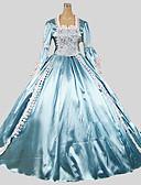 preiswerte Brautmutter Kleider-Prinzessin Gothik Damen Kleid Cosplay Gedicht Boden-Länge Halloween Kostüme
