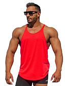 cheap Men's Underwear & Socks-Men's Sports / Beach Active Cotton Tank Top - Solid Colored Basic / Sleeveless