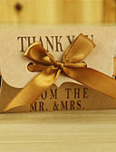 abordables Soportes para Regalo-Almohada Papel de tarjeta Soporte para regalo  con Cintas Cajas de regalos