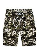 billige Herrebukser og shorts-Drenge Afslappet / Aktiv / Boheme Plusstørrelser Bomuld Løstsiddende / Shorts Bukser camouflage / Sport / Strand